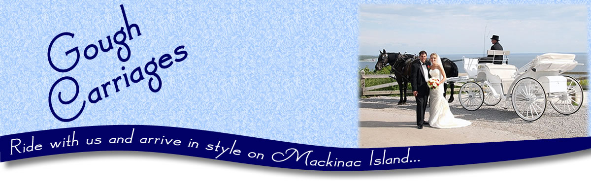 Ride with us and arrive in style on Mackinac Island